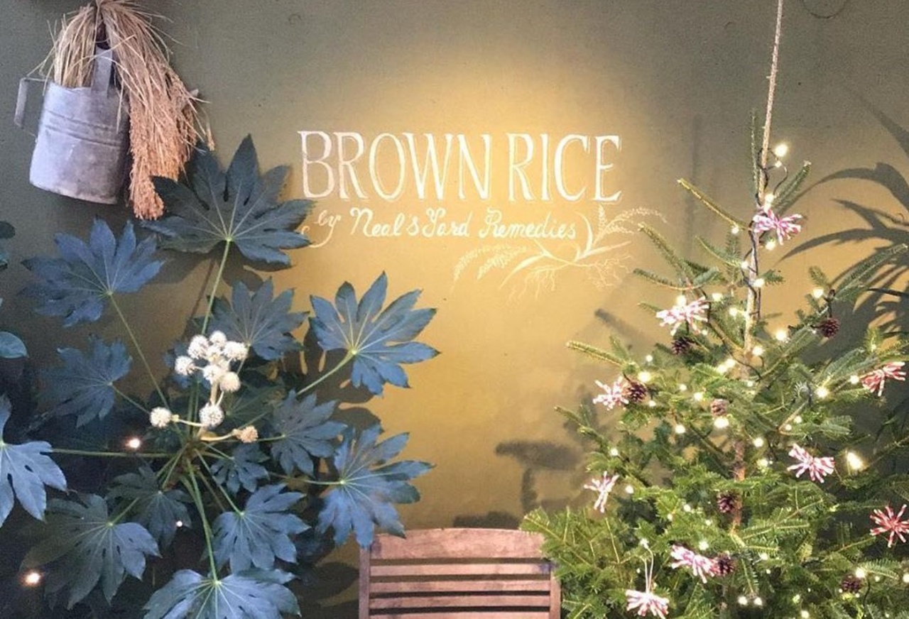 ブラウンライスを楽しむ食堂...東京都渋谷区神宮前5丁目の「ブラウンライス」