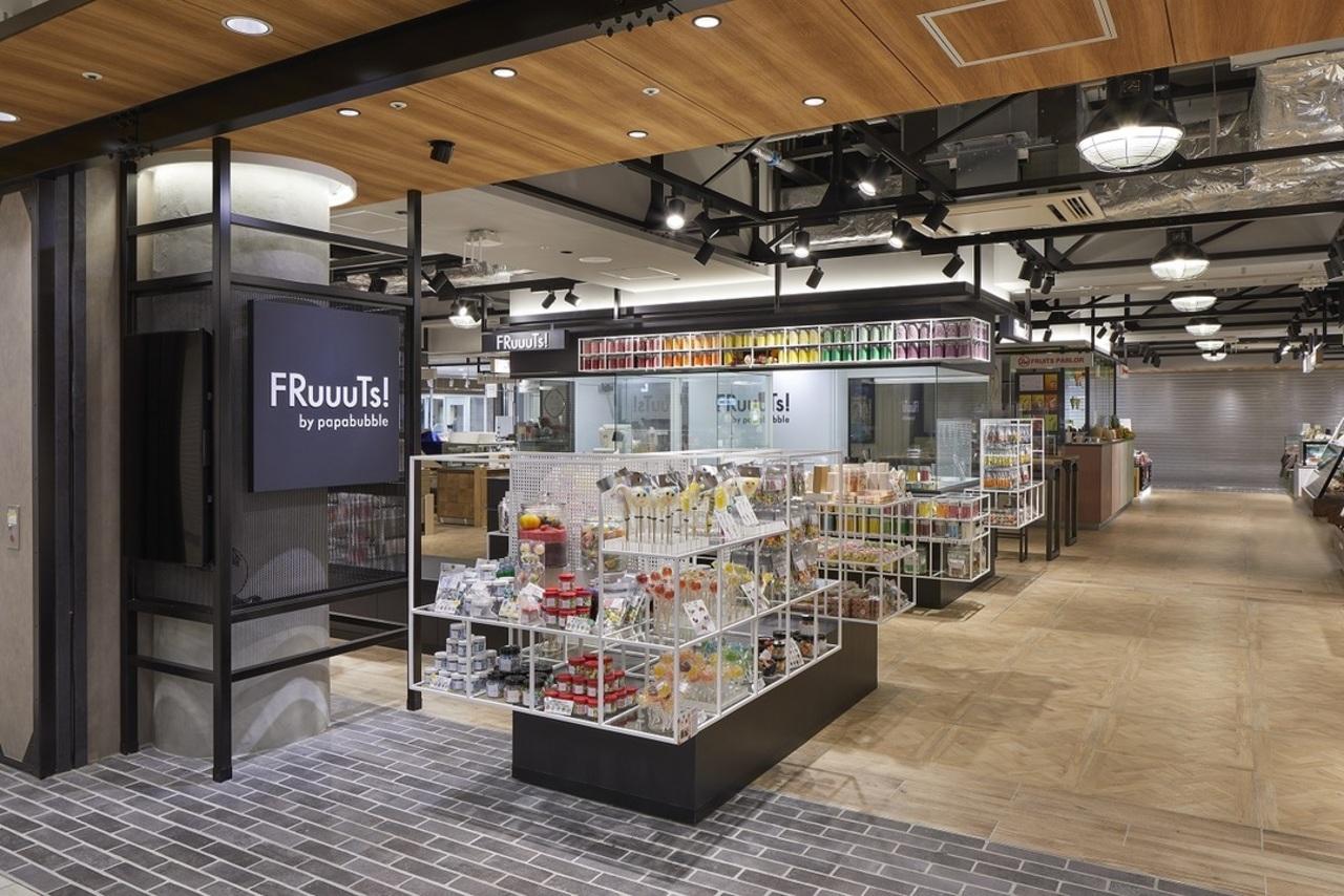 横浜高島屋地下1階フーディーズポート2に「FRuuuTs!」12月11日オープン!