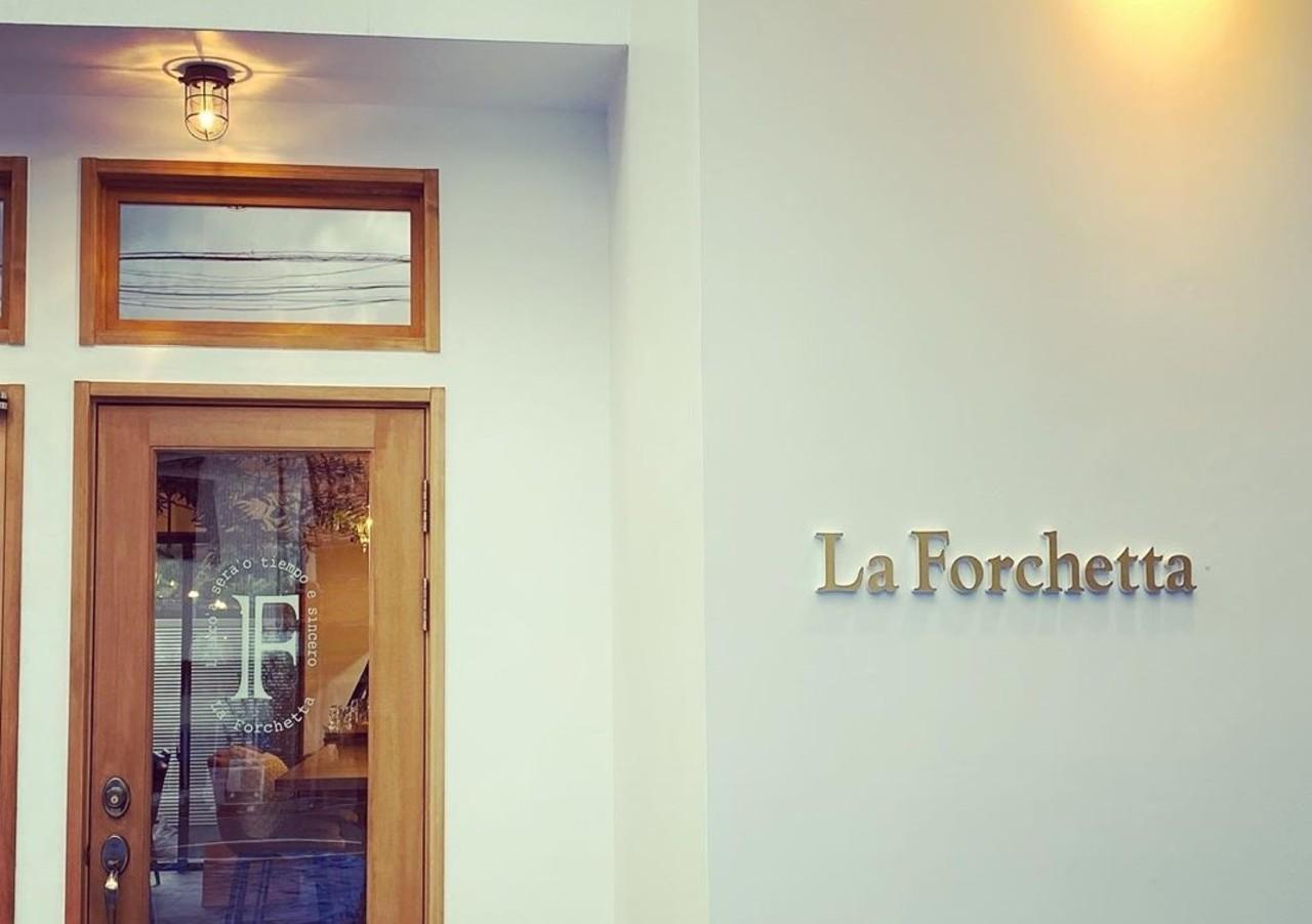 ピッツァとパスタの南イタリア料理店...兵庫県美方郡新温泉町浜坂の「ラ・フォルケッタ」