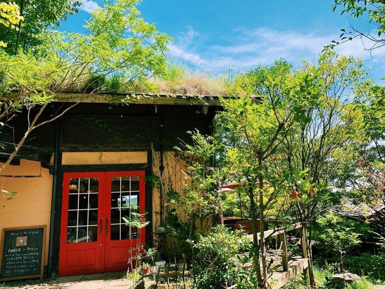 ガレットとクレープのお店。。長崎県諫早市森山町 風の森内の『アメリ』