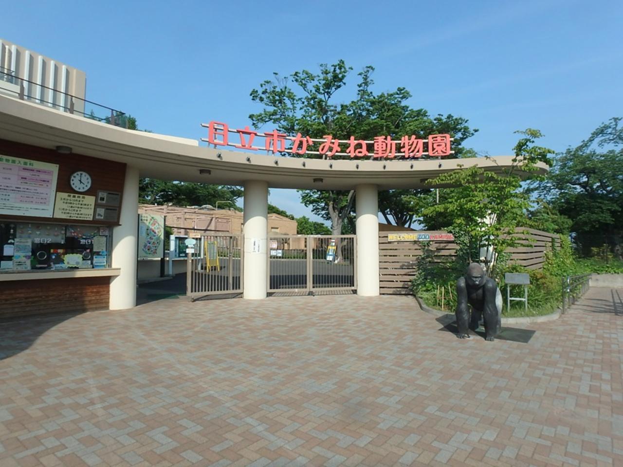 太平洋を一望できる動物園...茨城県日立市宮田町の「日立市かみね動物園」