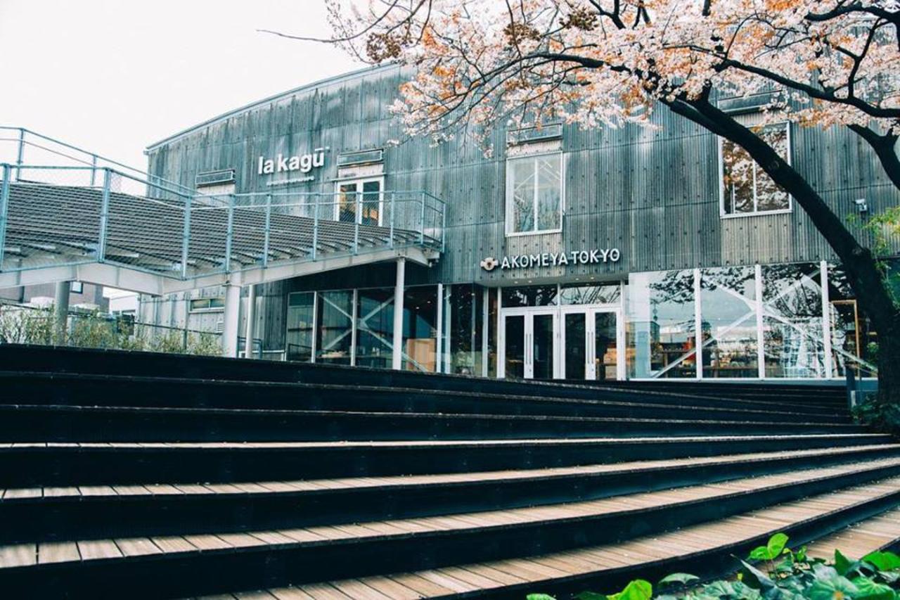 新宿区矢来町にAKOMEYA旗艦店「アコメヤ トウキョウ イン ラカグ」が本日オープンのようです。