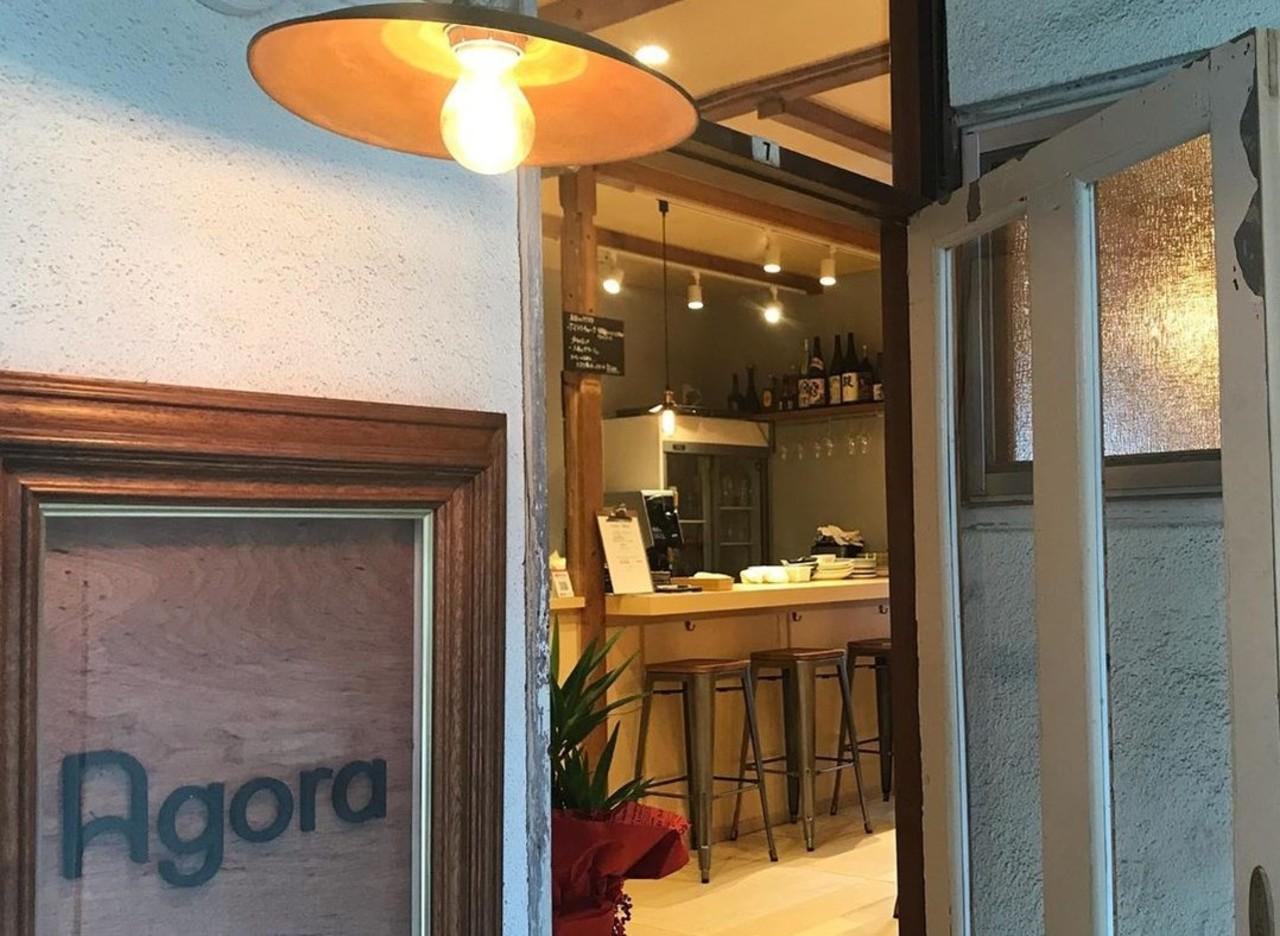 ひなもり豚メインのお店。。福岡市南区大楠3丁目あさだ荘の『アゴラ』