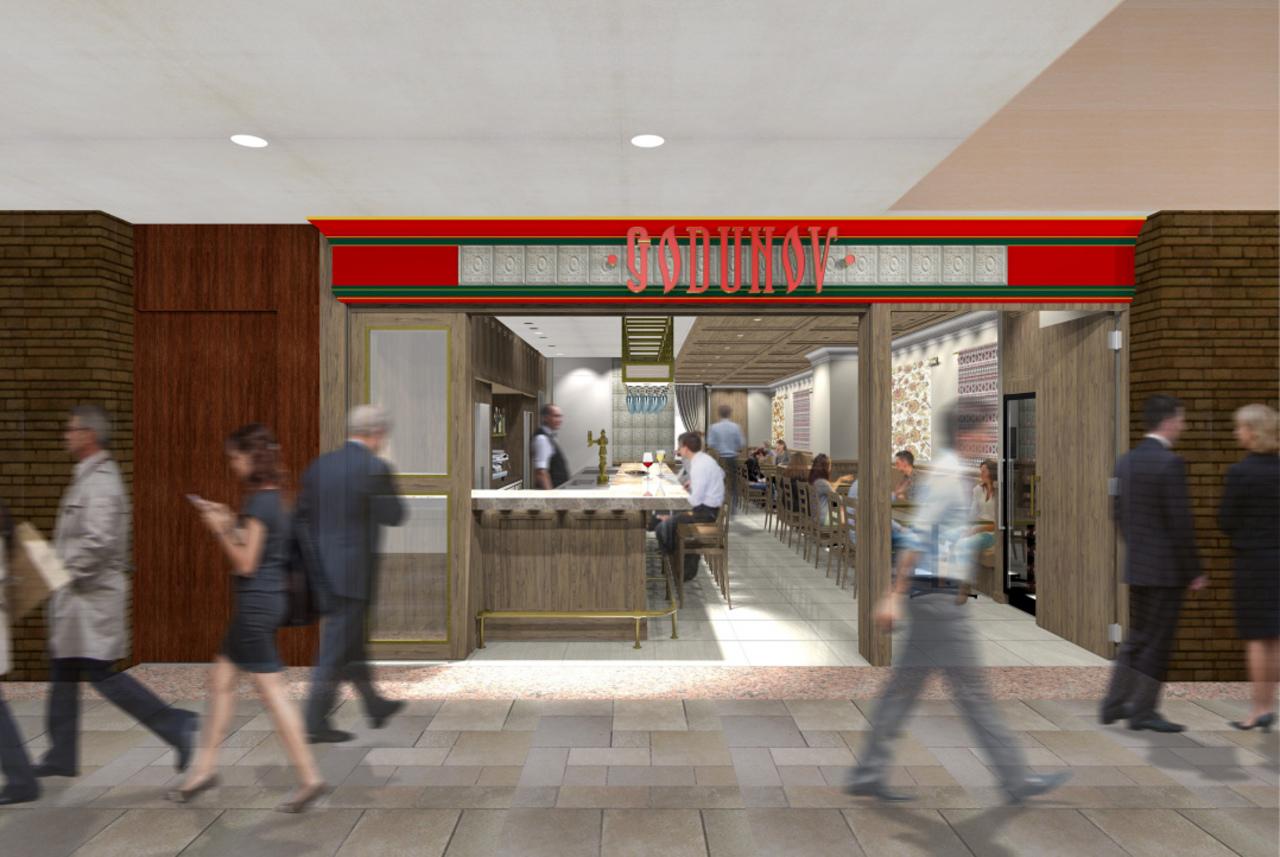ロシア料理「GODNOV Tokyo」日本初出店!丸ビルに3月12日 GRAND OPEN!