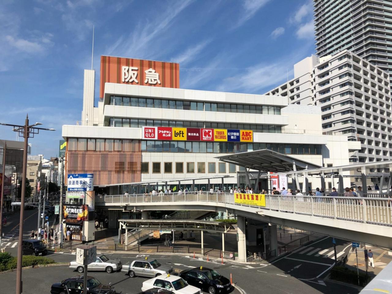大阪のJR高槻駅前の西武高槻店は「高槻阪急」として10/5~新たにスタートされたようです。