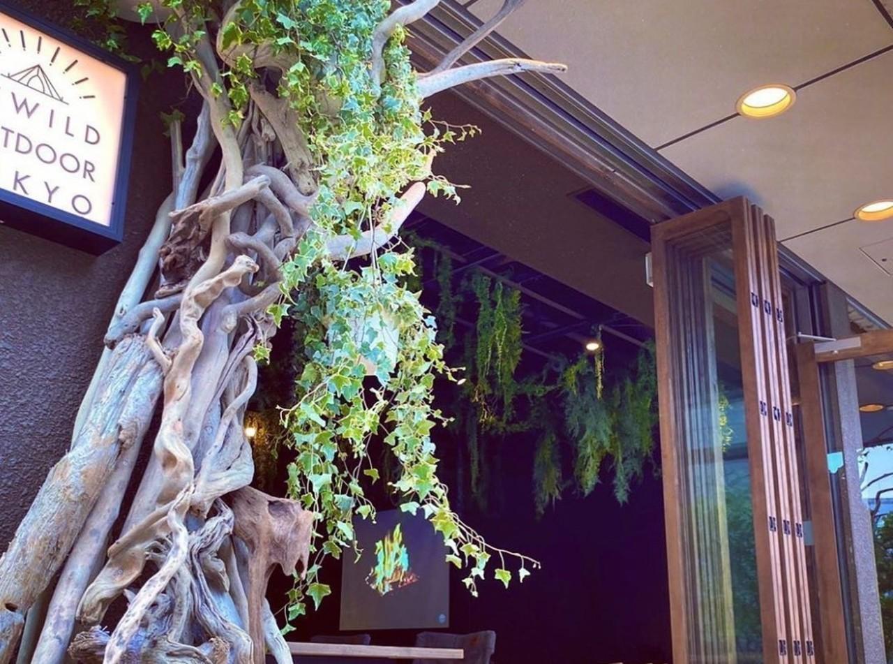 都会の森であそぶ..東京都中央区日本橋茅場町に「リワイルドカフェアウトドアトーキョー」6/1オープン