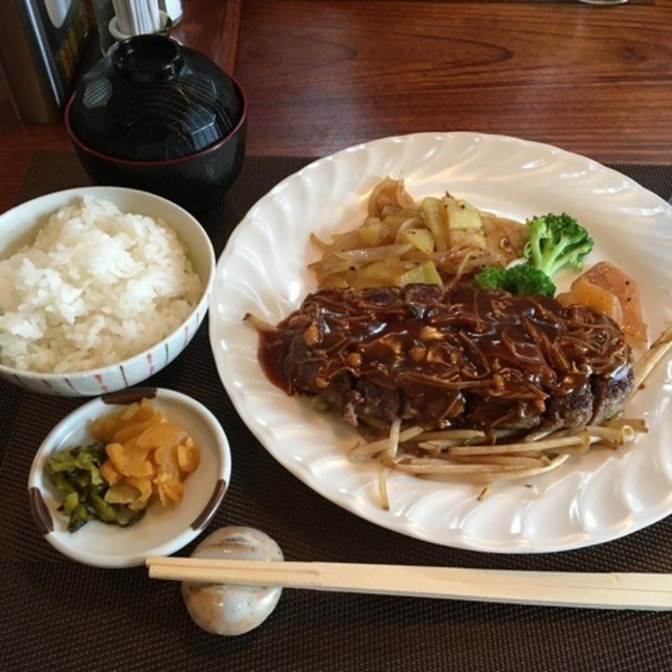 [栗東駅]ボストンコモン 5食限定 ハンバーグランチ