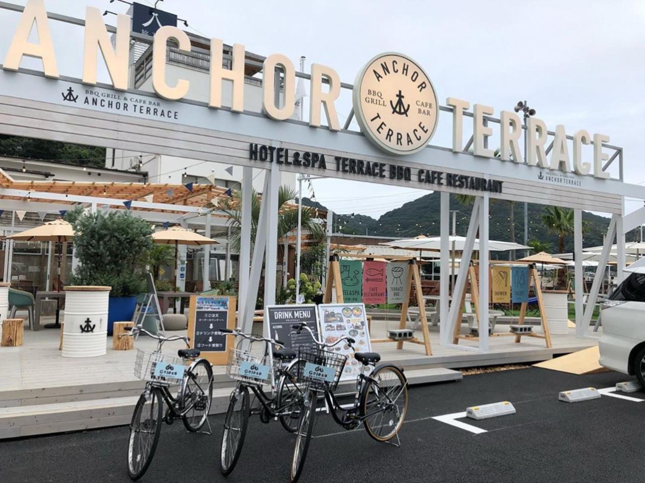 BBQグリル&カフェレストラン...静岡県伊東市宇佐美の「アンカーテラス」