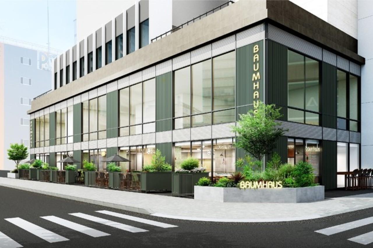 愛知県名古屋市中区栄3丁目に食の未来をテーマにした複合施設「バウムハウス」3月4日オープン!