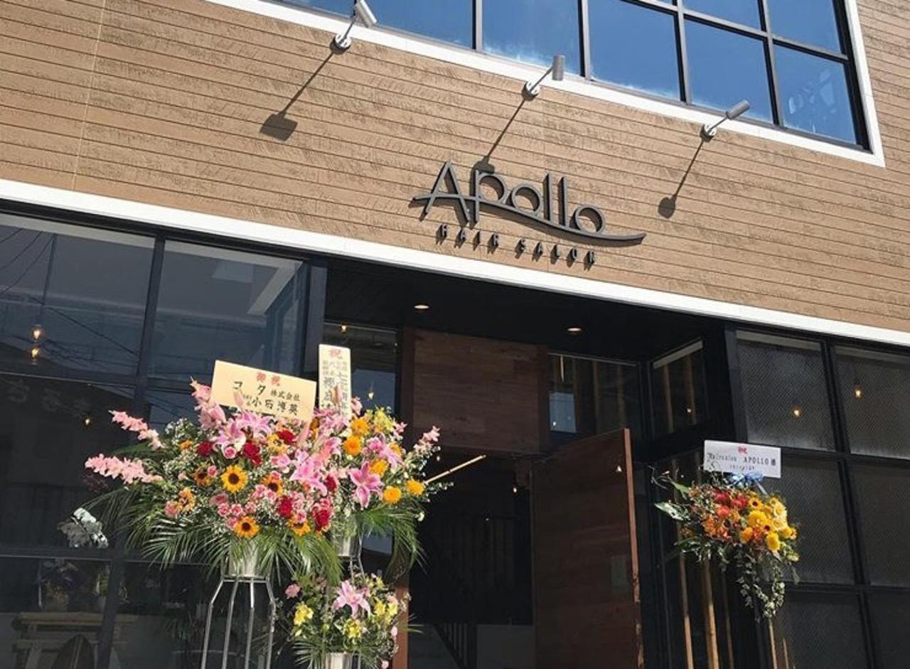 祝!7/23open『hair salon apollo』(秋田県秋田市)