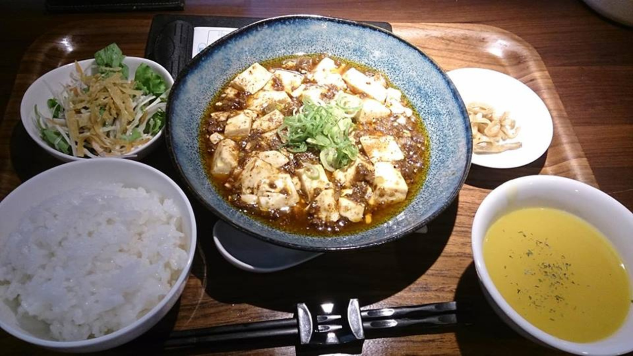 麻婆豆腐の美味しいお店♡