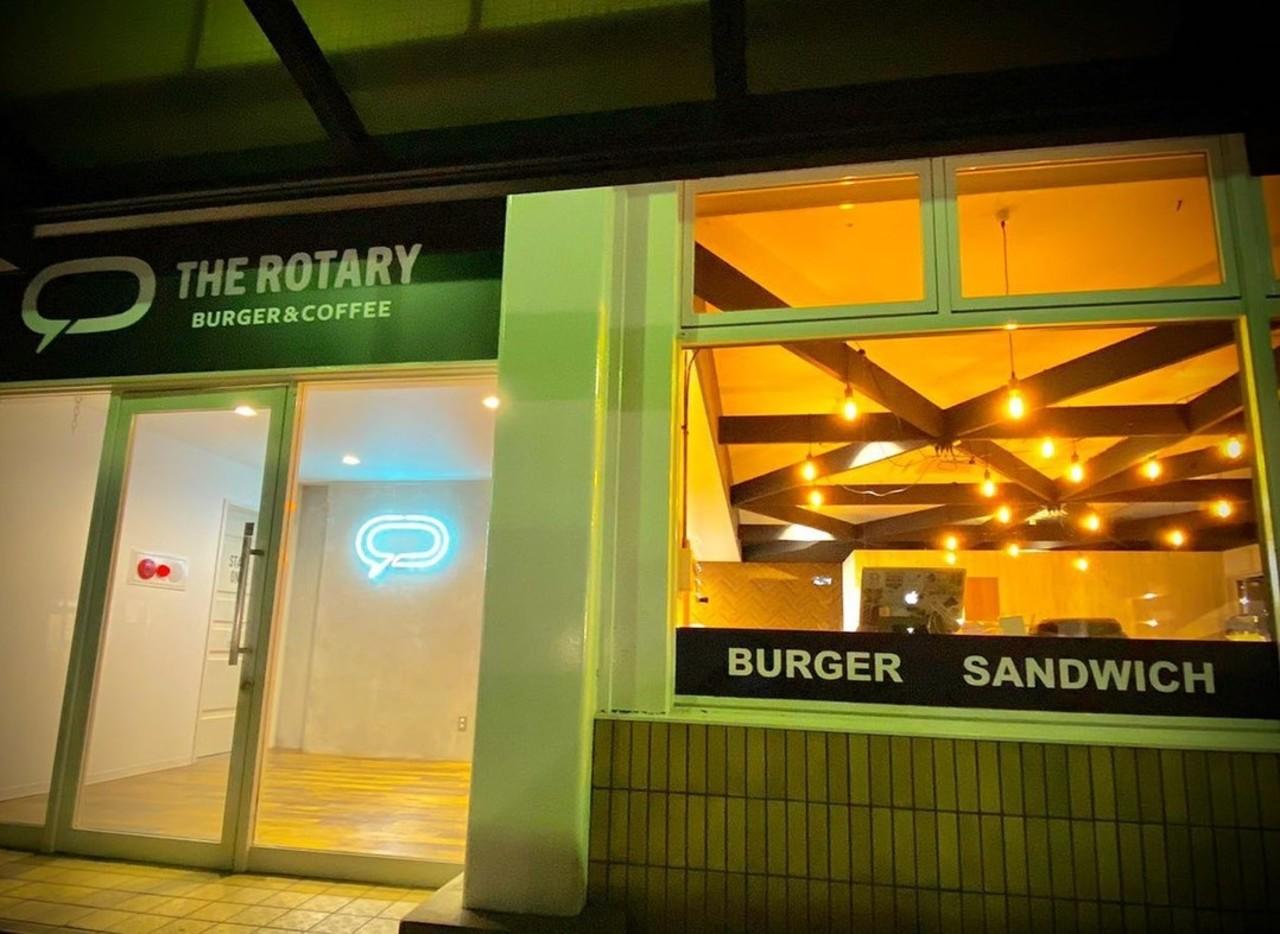 バーガー&コーヒー...群馬県前橋市の新前橋駅に「ザ ロータリ」本日オープン