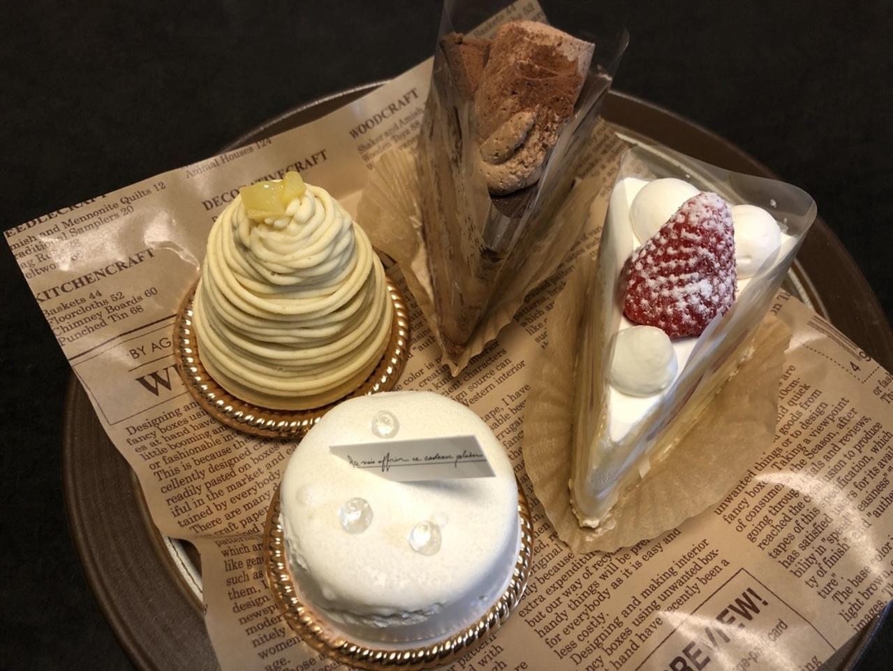 名張市 プルースト菓子店さんのケーキ。。