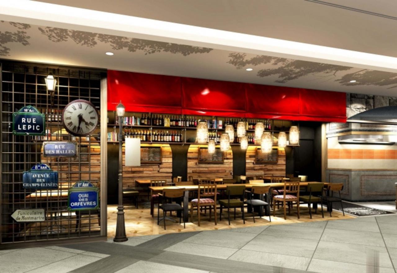 東京駅隣接の丸の内トラストタワーN館に「ビストロ ラヴァロック 丸の内」9月18日オープン!