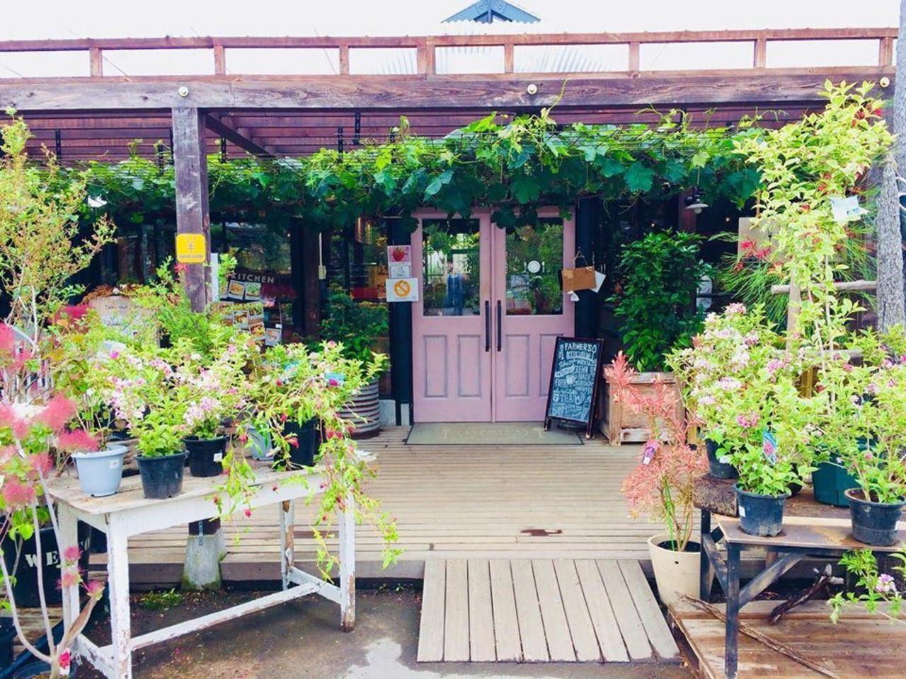 緑溢れる癒しのCAFE。。大阪府茨木市佐保の『ファーマーズキッチン』