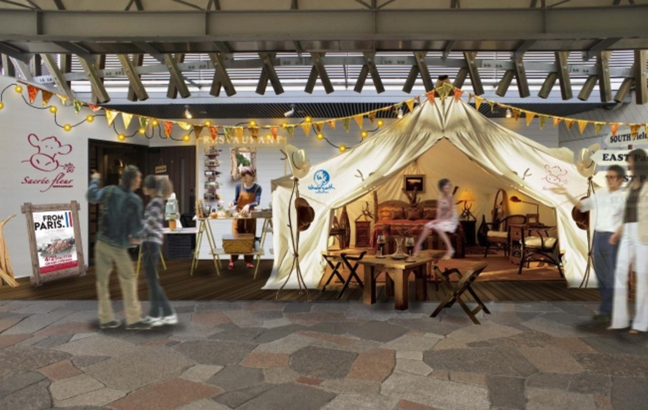 軽井沢・プリンスショッピングプラザにフレンチビストロ「サクレフルール軽井沢」3月10日オープン!