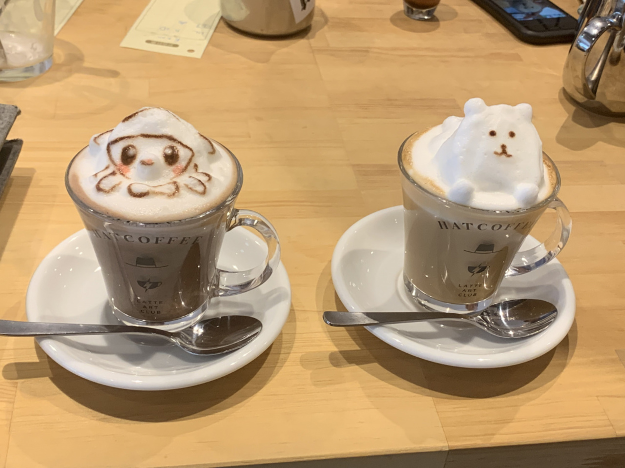 19.6.15 OPEN!ラテアートをオーダーメイドで作成可能! 台東区 「HAT COFFEE」