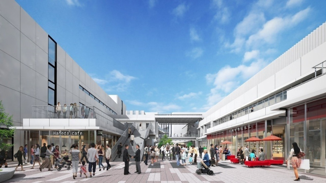 進化する羽田空港エリアに大規模複合施設「羽田イノベーションシティ」7月3日に先行開業!