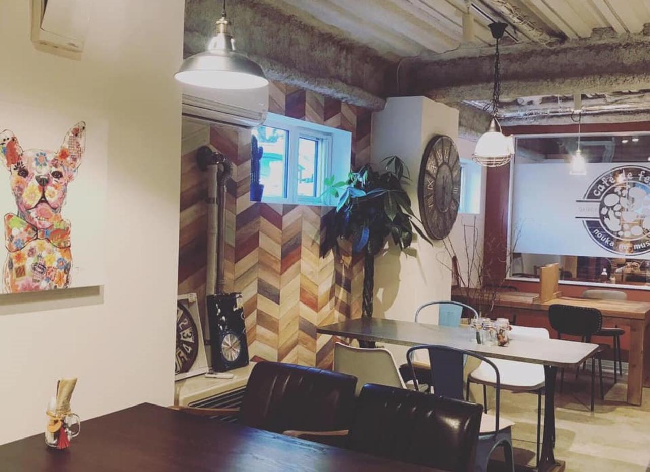 デザイナーズカフェ...札幌市北区新琴似12条1丁目に「カフェドフェルム」本日グランドオープン