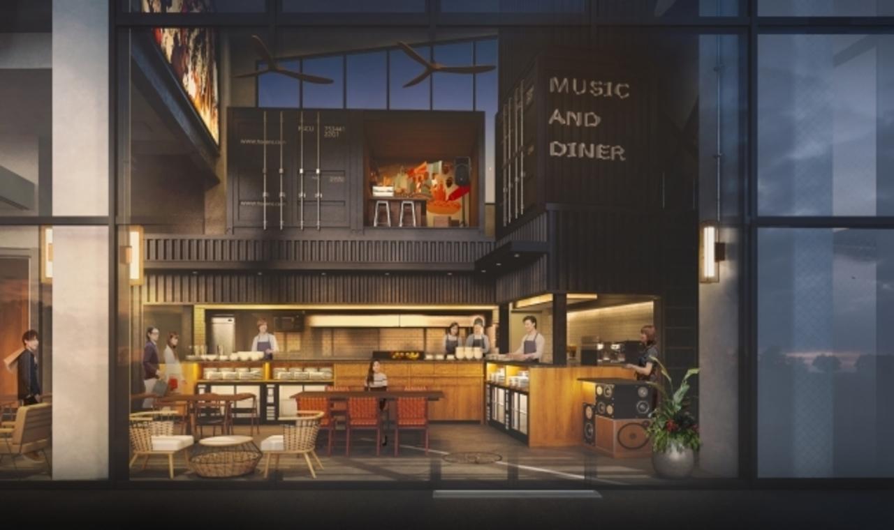 東京都立川市の新街区グリーンスプリングスに「アンダー ザ カスケード」4月10日オープン予定!