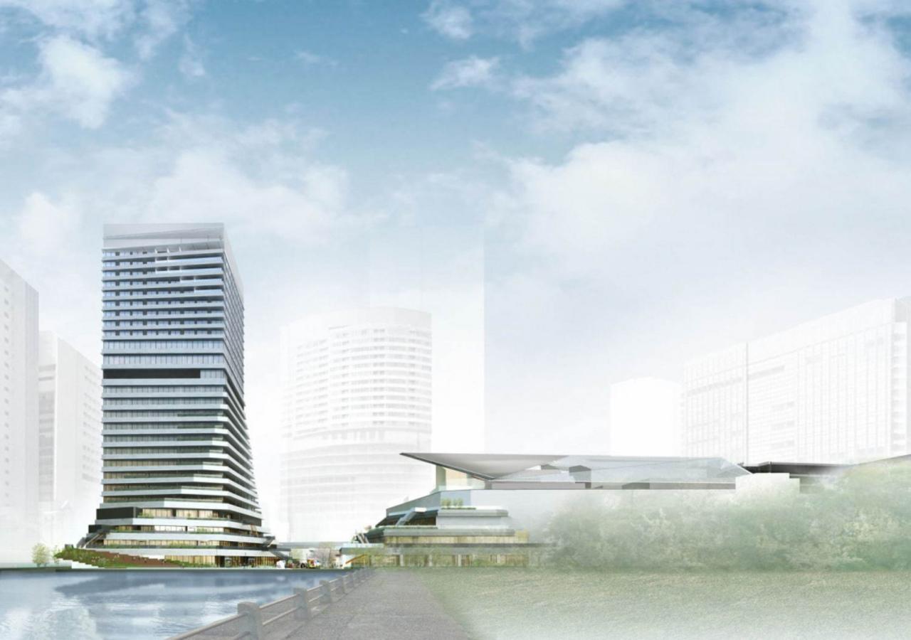 東京都港区の竹芝駅周辺の再開発エリアに複合施設「ウォーターズ竹芝」2020年開業!