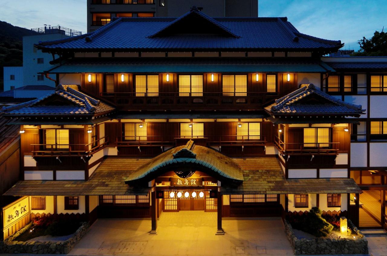 香川県の金刀比羅宮へと続く表参道沿いに「ことひら温泉御宿敷島館」8月9日オープン!