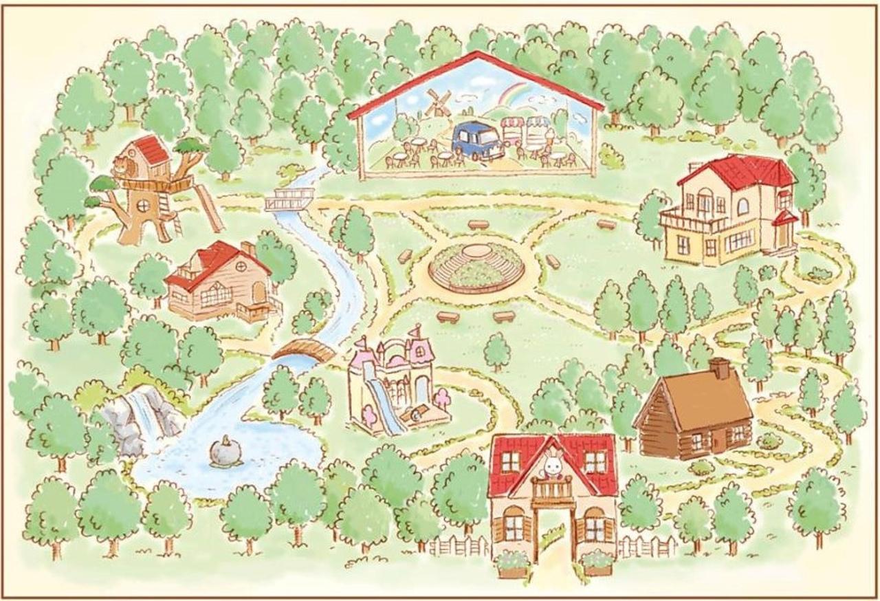 こもれび森のイバライド内に「シルバニアパーク」7月14日グランドオープン!