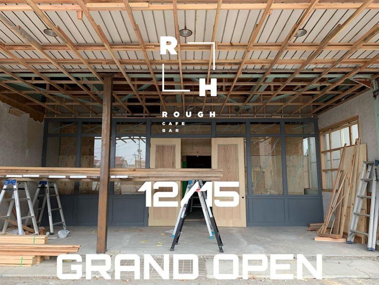 佐賀県佐賀市駅前中央2丁目にカフェバー併設のメンズサロン「ラフ」が本日オープンのようです。