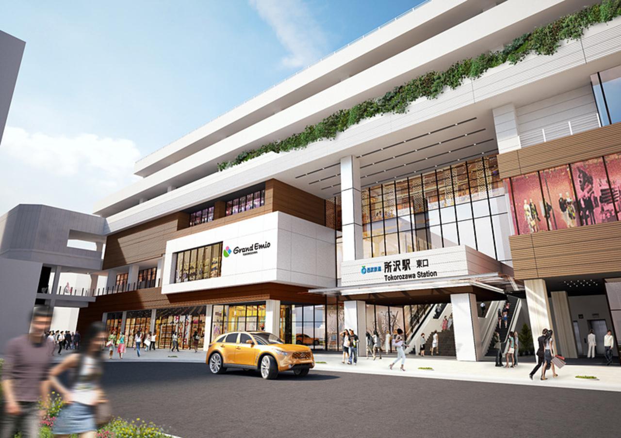所沢駅商業施設「グランエミオ所沢」明日3月2日1st STAGE OPEN!