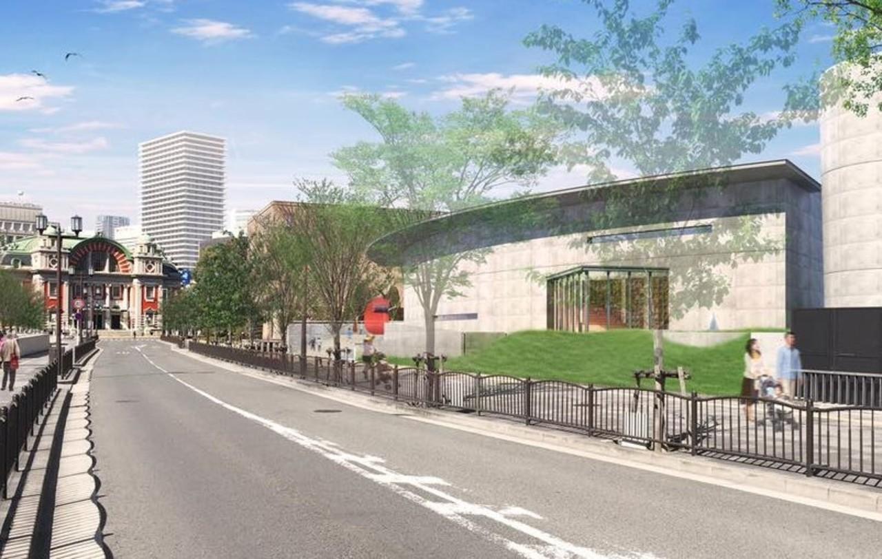 大阪市北区の中之島公園内に建築家安藤忠雄氏設計の「こども本の森 中之島」開館延期。