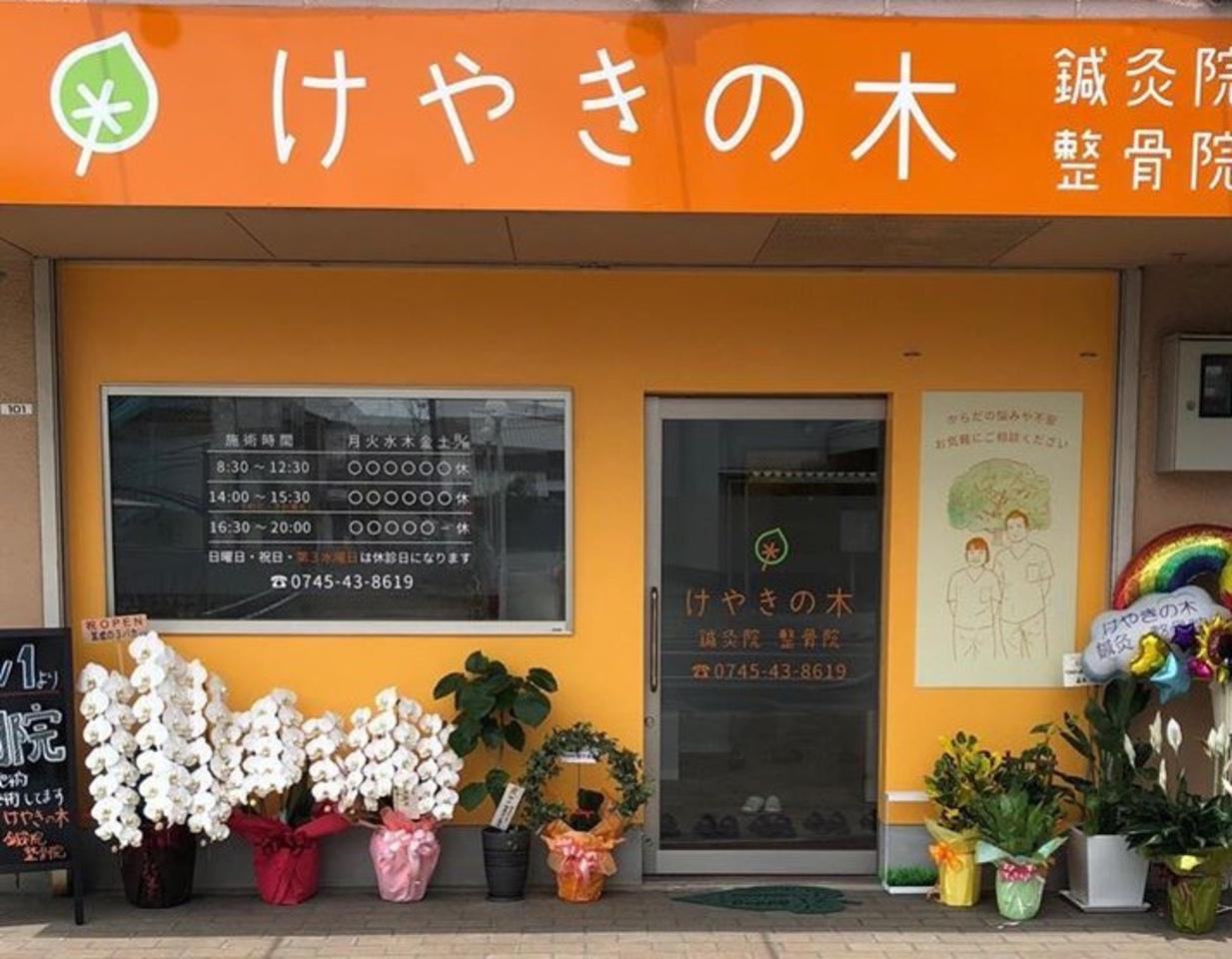 祝!6/1open『けやきの木鍼灸院整骨院』(奈良県磯城郡)
