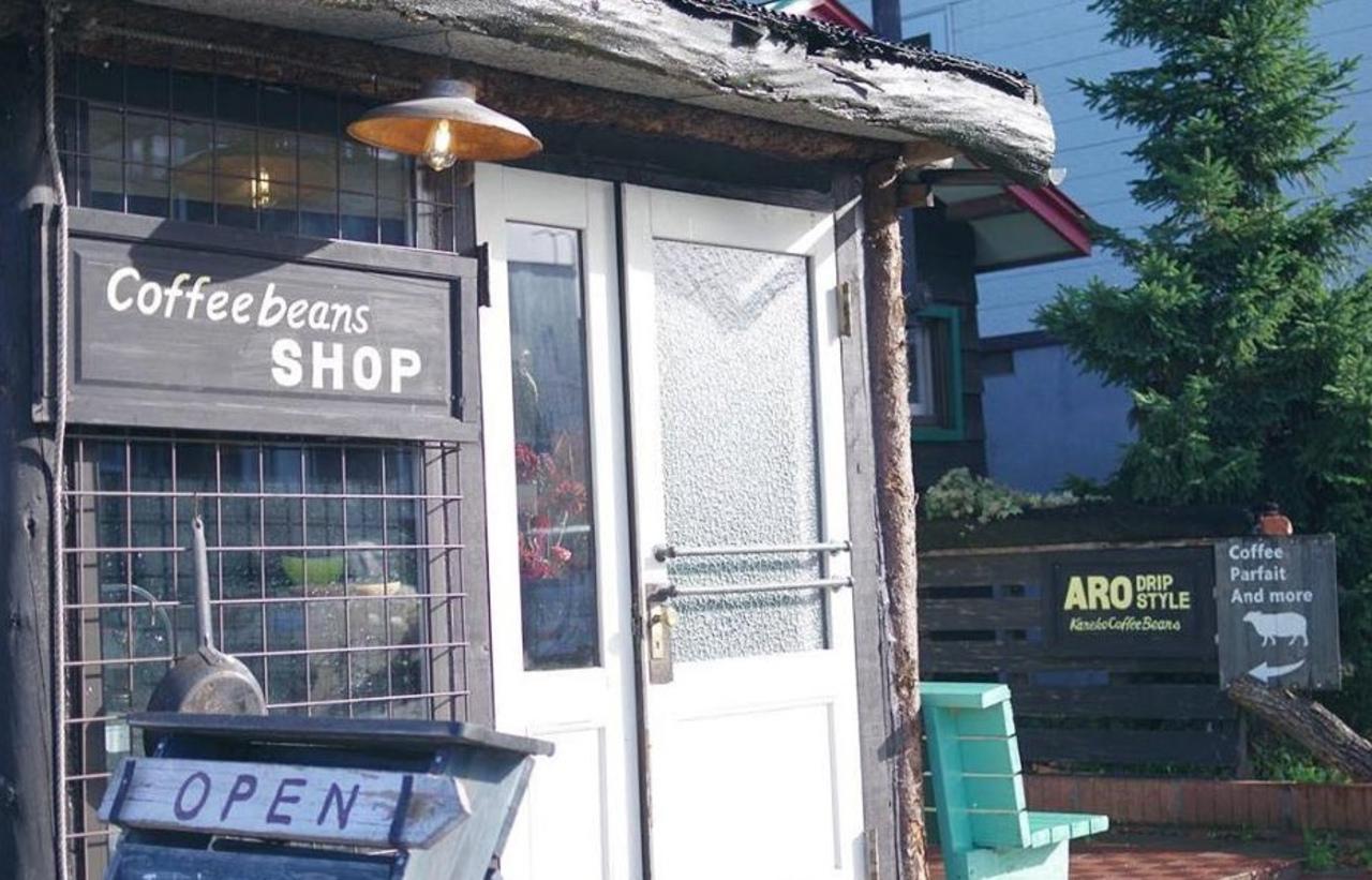 カフェとテイクアウト...旭川市豊岡12条にカネココーヒービーンズ旭川『aro drip』オープン。