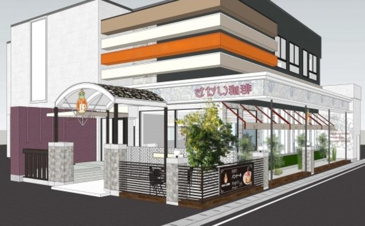 世界一のパンケーキが目標。静岡の清水IC近くに「さかい珈琲清水店」10月1日グランドオープン!