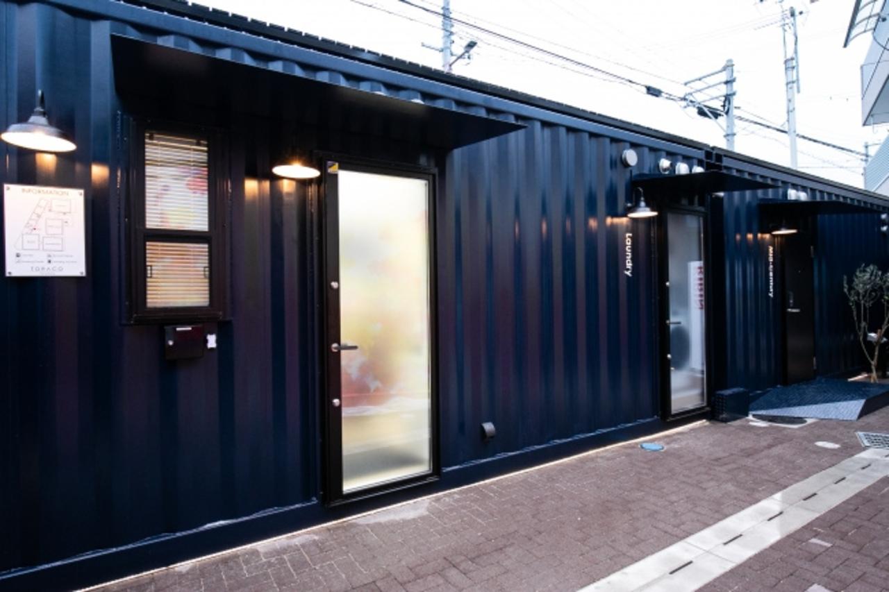 海上コンテナ活用ホテル。安治川口駅近くに新感覚施設「トラコ・コノハナ」10月31日オープン!