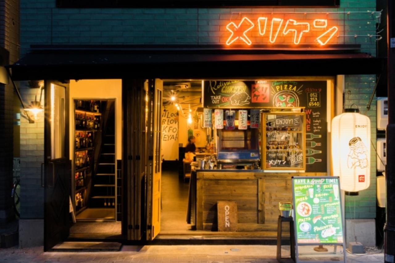 名古屋市中区栄に年中生牡蠣が楽しめる「メリケンサカナ栄店」本日オープン!