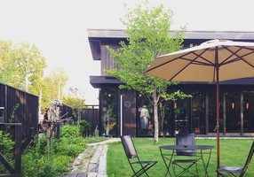 自然に囲まれたスロウなカフェ。。北海道恵庭市恵南の『cafe福座』