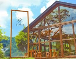 福島県石川郡玉川村の体験宿泊施設『森の駅yodge』7/18GrandOpen