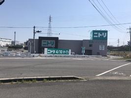 ニトリ名張店2020年4月10日オープン!