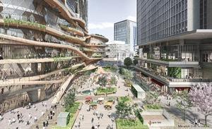 東京駅日本橋口前の大規模再開発により新街区「トウキョウトーチ」2027年度誕生!