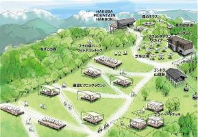 白馬岩岳山頂に絶景マウンテンリゾート空間「イワタケ グリーン パーク」7月13日オープン!
