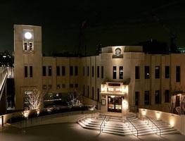 時計台を復元...東京都新宿区市谷加賀町に「市谷の杜 本と活字館」2/11グランドオープン