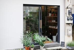 グリーンとコーヒーと建築事務所...東京都墨田区太平1丁目に「PERK SHOP」8/24オープン