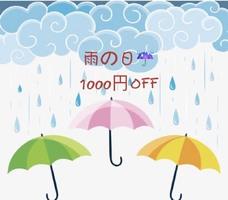 雨がしとしと降り続きますね!