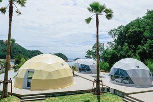 香川県香川郡のグランピング型リゾート施設『サナマネ』