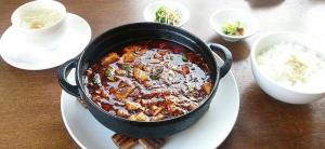 甘さの中にも辛さが。辛さの中にも肉の甘味がある絶品麻婆豆腐♬