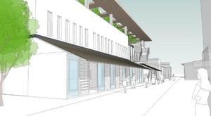 滋賀県長浜市元浜町に新複合商業施設「湖北くらしのスコーレ」2021年春オープン!