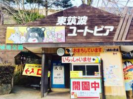 茨城県石岡市の自然動物公園東筑波ユートピアに「いのししのくに」オープン