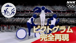 話題の東京オリンピック開会式ピクトグラム50個パフォーマンス動画!