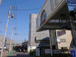 今朝の阪急淡路駅付近の様子。。。