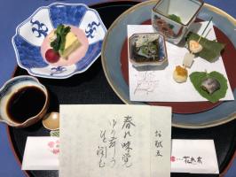 長島温泉 ホテル花水木のお食事。。。